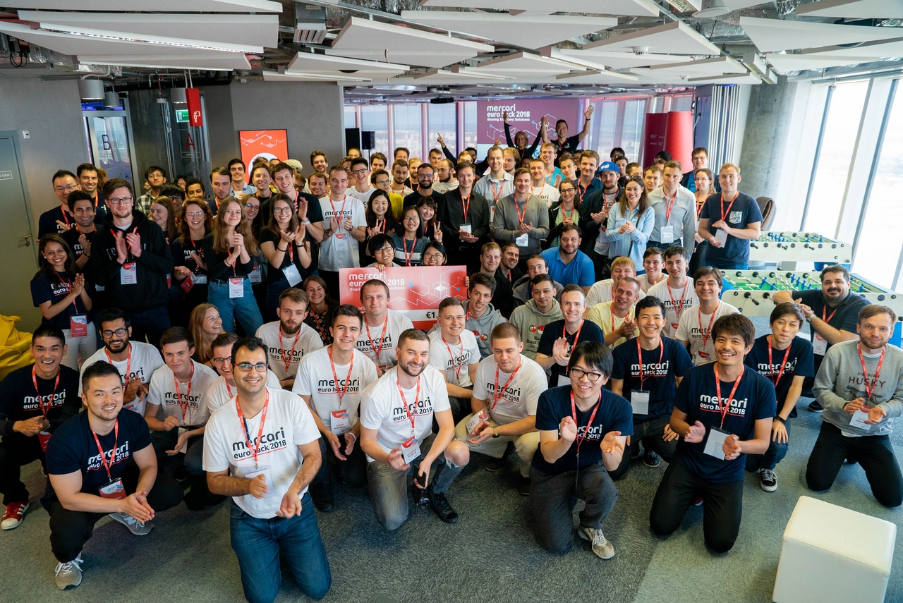 Thank you all for participating in the first Mercari Euro Hack in Warsaw!